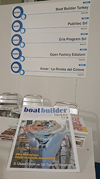 Boat Builder Türkiye Dergimiz SEATEC Fuarı'nda