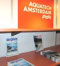 Su ve Çevre Teknolojileri Dergimiz Aquatech Fuarı'nda