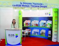Tersane dergimizle Europort İstanbul fuarına katıldık.