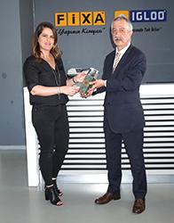 Yılın Cephe Sistem Bileşeni Ödülü'nü FİXA YAPI KİMYASALLARI Kazandı