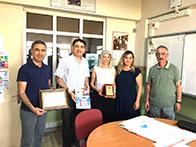 Sabri Kılıçoğlu Ortaokulu dergisine sponsor olduk