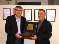 İş arkadaşımız Ömer Duman'ın 15. çalışma yılını kutladık