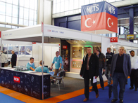 Boat Builder Türkiye dergimiz METS fuarına katıldı